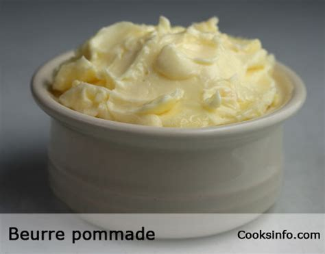 beurre pommade