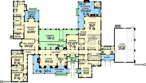 Normandy House Plans by Luxury Normandy House Plan 82003ka 1st Floor