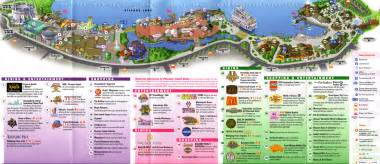 walt disney world maps downtown disney map