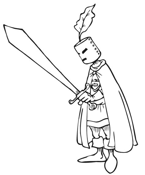 knight sword coloring page the swords heatrss colouring pages