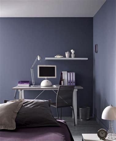Peinture Chambre Violet by Peinture Chambre Fille Et Gar 231 On Pour Ados Branch 233 S