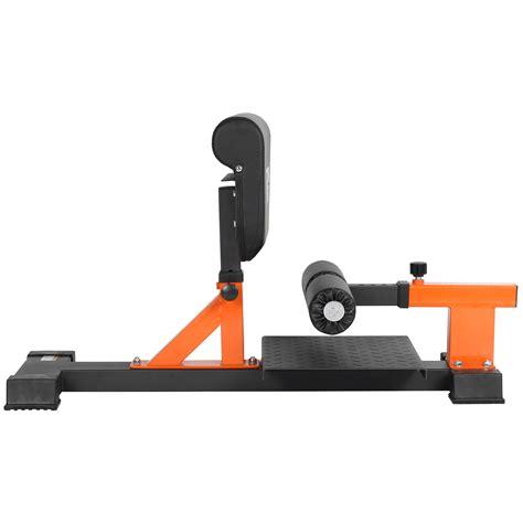 sissy squat bench mirafit adjustable sissy squat bench stand quad core