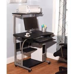 printer desk computer desk w printer shelf stand home office rolling