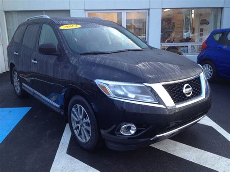 nissan pathfinder platinum black used 2013 nissan pathfinder s sv sl platinum in new