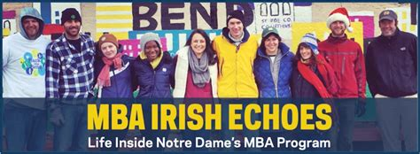 Notre Dame Mba Admissions Deadlines by Unwinding On Thirsty Thursdays Mba Echoes