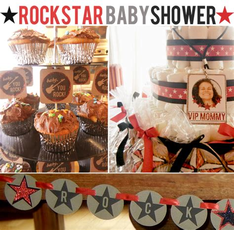 Rock And Roll Baby Shower by Bubby And Bean Living Creatively A Rock N Roll