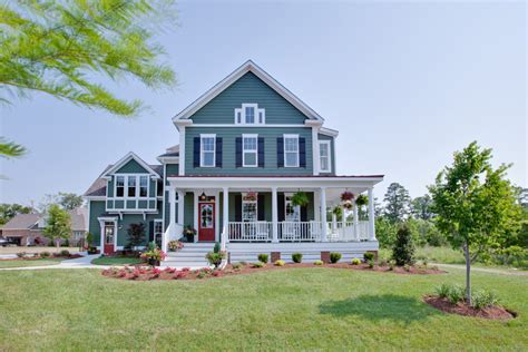 unique country style house with wrap around porch house