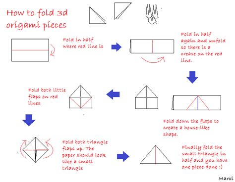 How To Fold A Paper In Three - embracing different forms of constructing a 3d