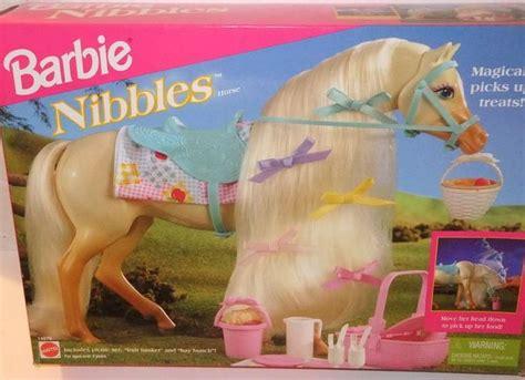 film barbie horse barbie nibbles horse 1995 memories pinterest