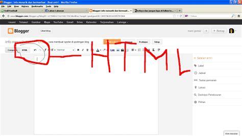 membuat spoiler html cara membuat spoiler di postingan blog info menarik dan