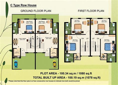 row home plans studio type row houses in philippines studio design