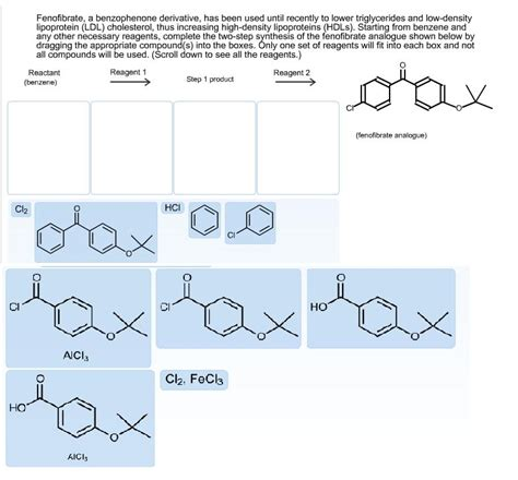 Been To The Recently by Solved Fenofibrate A Benzophenone Derivative Has Been U