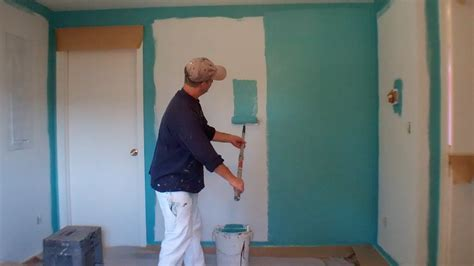 looking for a man who paints houses interior painting step 3 painting the walls youtube