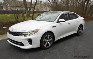 Kia Optima Sx Upgrades Road Test Review 2016 Kia Optima Sx Turbo
