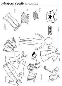 winter clothes worksheets for kindergarten winter