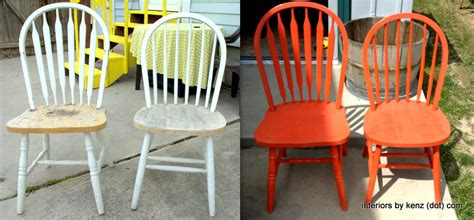 spray painting kitchen chairs spray painting do s and don ts interiors by kenz