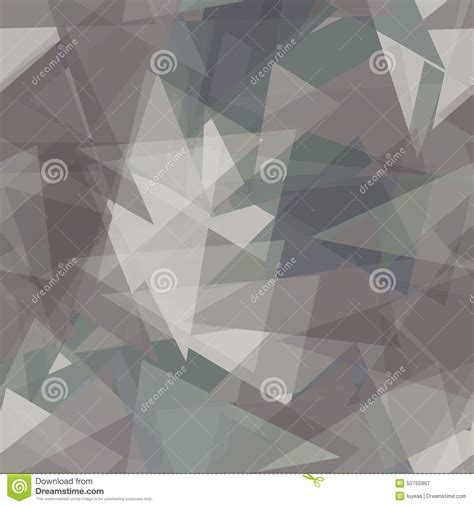 gray triangle pattern vector abstract gray triangles background vector stock vector
