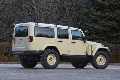 tan jeep the jeep wrangler africa concept heads to safari in moab