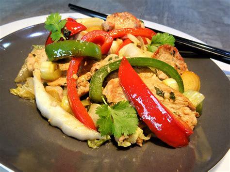 gingembre cuisine filets de porc au gingembre la recette facile par toqu 233 s