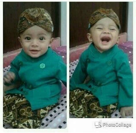 Baju Adat Kalimantan Anak Laki Laki Xl jual baju adat anak kostum jawa setelan beskap bayi dan anak plus blangkon fosasie shop