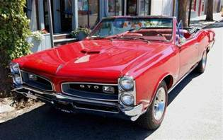 67 Pontiac Convertible 67 Gto Convertible Pontiac
