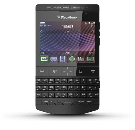 porsche design p 9981 blackberry smartphone