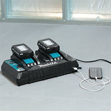 makita dcrd  lithium ion dual port rapid optimum