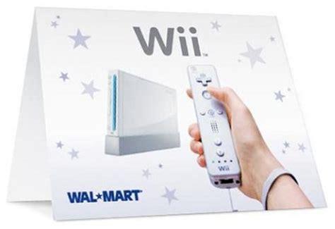 Wii Console At Walmart With 50 Gift Card - walmart wii special deal redmond pie