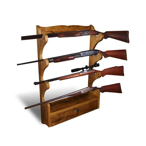 Gun Racks by Pin Gun Rack Open Back On