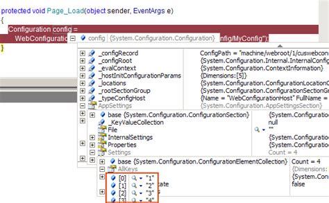 custom configuration section add custom configuration sections into a separate web