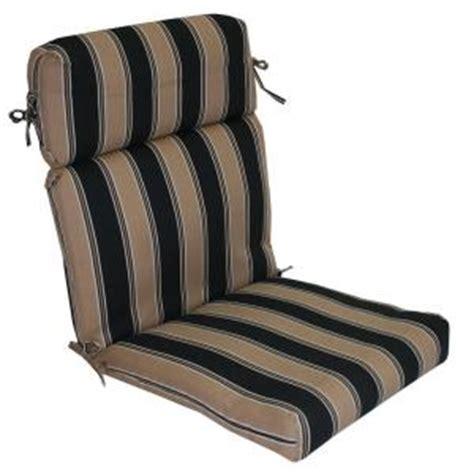 plantation patterns patio highback chair cushion