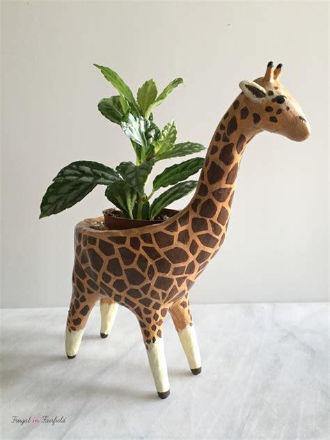 Giraffe Planter by Frugal In Fairfield Frugal In Fairfield