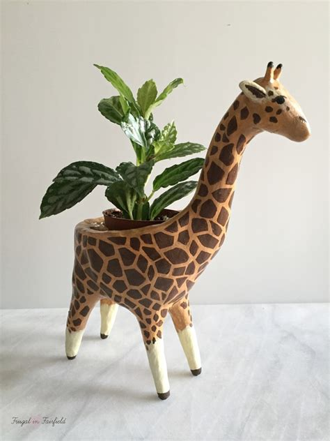 giraffe planter frugal in fairfield frugal in fairfield