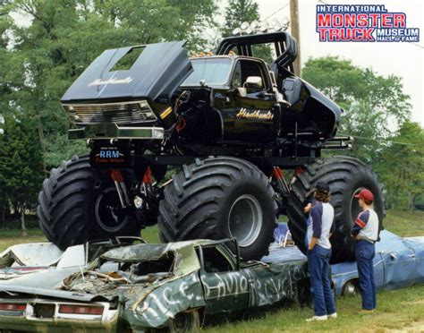 bigfoot monster truck museum headhunter 187 international monster truck museum hall of fame