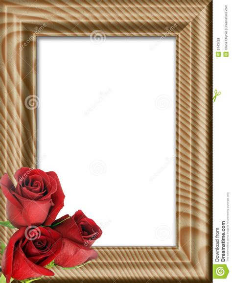 imagenes de marcos minimalistas rosas rojas en un marco de madera fotos de archivo libres