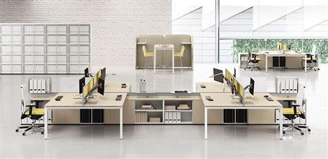 mobili per ufficio las scrivania operativa per uffici moderni 5th element di las
