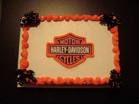 Harley Davidson Cake Decorations by 30 Best Images About Harley Cakes On Groom