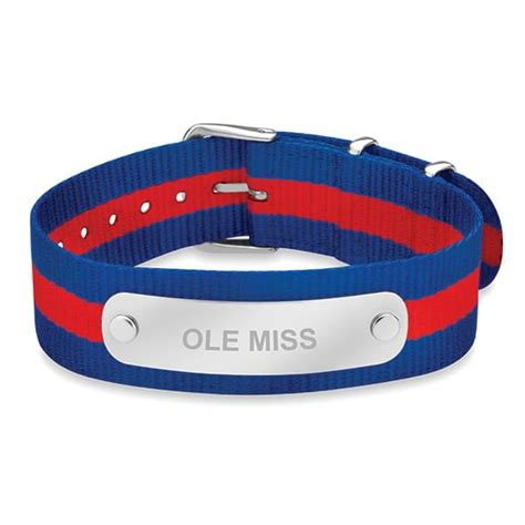 Ole Miss Help Desk by Ole Miss Nato Id Bracelet At M Lahart Co