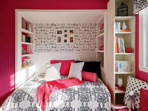 Small Bedroom Ideas For Teenage Girl