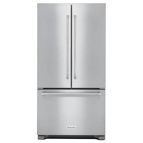 kitchenaid refrigerators door kitchenaid 21 9 cu ft door refrigerator in