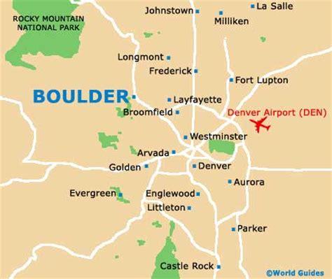 map of of colorado boulder boulder maps and orientation boulder colorado co usa
