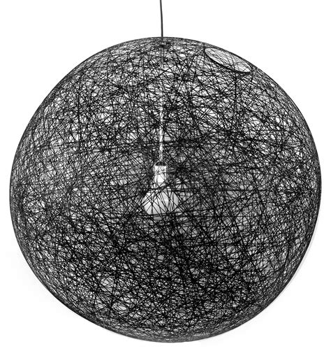 Luminaire Suspension 382 by Suspension Random Light Medium 216 80 Cm Noir Moooi