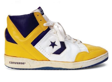 magic johnson basketball shoes sports illustrated s nba sneakers through the years