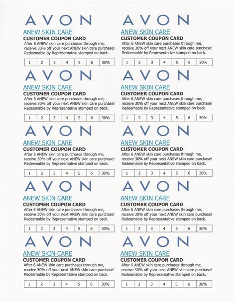 avon templates business cards avon flyers charts avon
