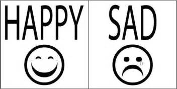 Angry Sad Happy Faces Colouring Pages sketch template