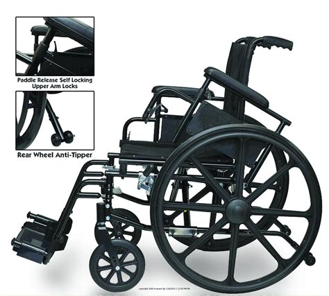 the osprey deluxe high strength lightweight wheelchair by