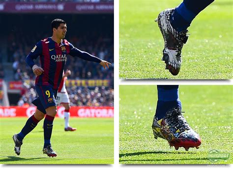 luis suarez tattoo weekend boot spots luis suarez and his f50 pack