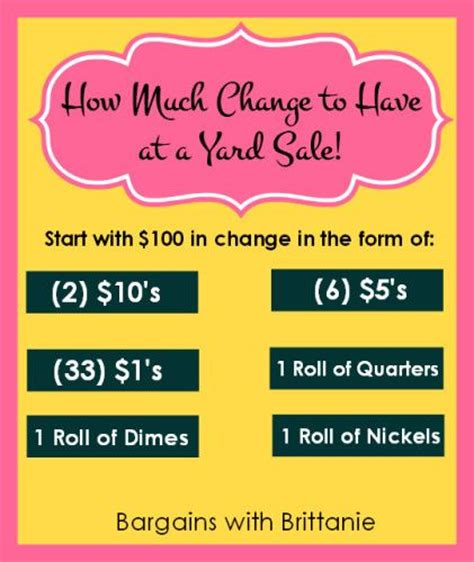 How Much Change For A Garage Sale by Best 25 Garage Sale Tips Ideas On Rummage
