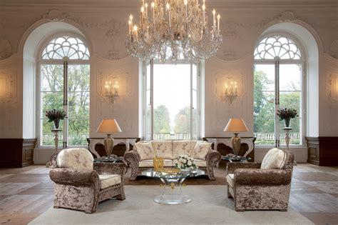 wallpaper living room hall chandelier furniture