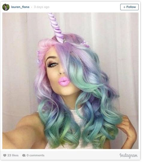 unicorn hair unicorn hair could be this year s weirdest style trend